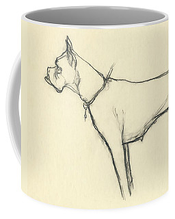 A Boxer Dog Coffee Mug