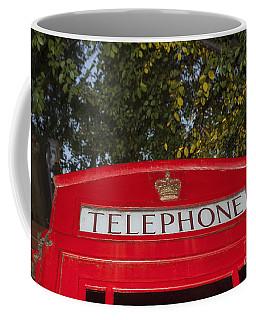A British Phone Box Coffee Mug