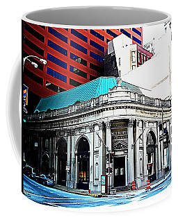 A Building Of Every Size Coffee Mug by Kelly Awad