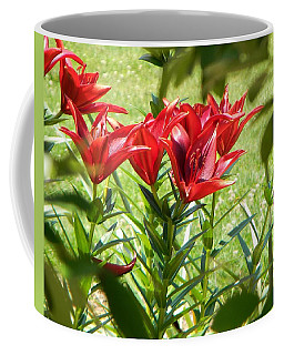 A Burst Of Red Coffee Mug