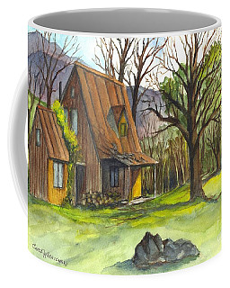 A Cabin In The Country Coffee Mug