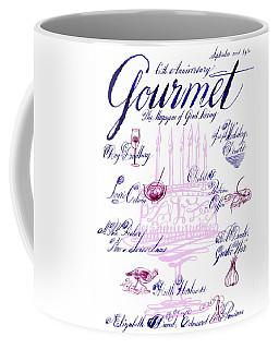 A Calligraphy Illustration Celebrating Sixty Coffee Mug