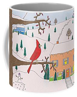 A Cardinal Christmas Coffee Mug