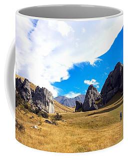 Coffee Mug featuring the photograph A Castle Hill Walk by Stuart Litoff