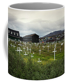 A Cemetery In The Arctic Community Coffee Mug