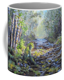 A Chance Encounter With Mossman Coffee Mug