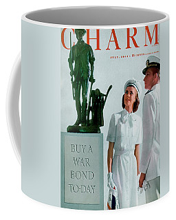 A Charm Cover Of The Concord Minute Man Coffee Mug