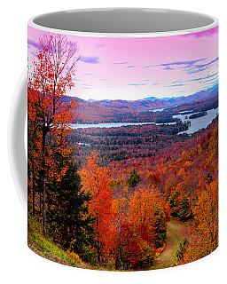 A Chilly Autumn Day On Mccauley Mountain Coffee Mug