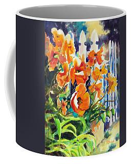 A Choir Of Poppies Coffee Mug by Kathy Braud