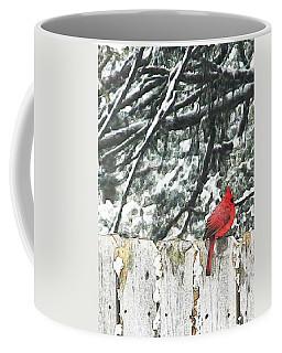 A Christmas Cardinal Coffee Mug
