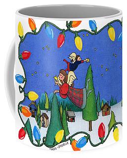 A Christmas Scene Coffee Mug