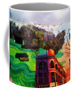 A City In Decay 2 Coffee Mug by Kelly Awad