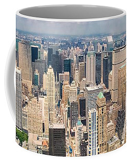 A Cloudy Day In New York City   Coffee Mug
