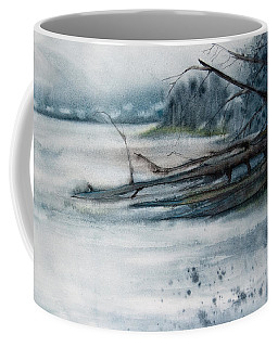 A Cold And Foggy View Coffee Mug