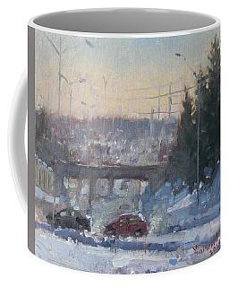 A Cold Morning Coffee Mug