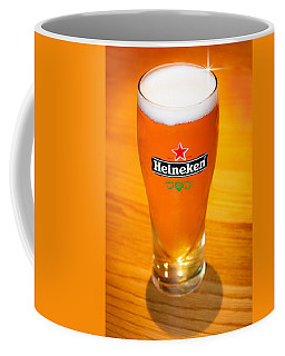 A Cold Refreshing Pint Of Heineken Lager Coffee Mug by Semmick Photo