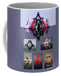 A Collection Of Stiletto Shoes Coffee Mug
