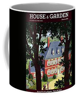 A Colonial Manor House Coffee Mug