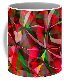 Colorful Shapes Blend Coffee Mug