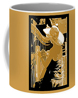 A Coos Bay Lady Musician Coffee Mug