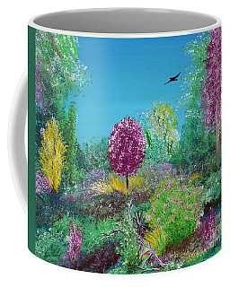 A Corner Of Heaven In Rural Indiana Coffee Mug by Alys Caviness-Gober
