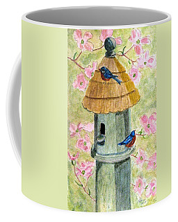A Cottage For Two Coffee Mug by Angela Davies