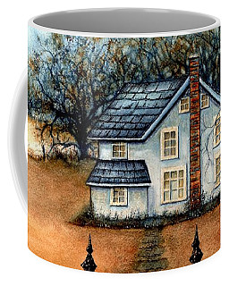 A Country Home Coffee Mug by Janine Riley