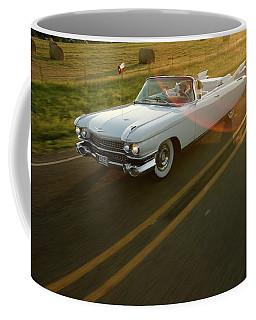 A Couple Take A Late Evening Drive Coffee Mug