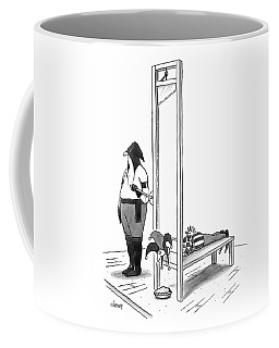 A Court Jester Is Awaiting The Guillotine Coffee Mug