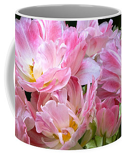 A Crowd Of Tulips Coffee Mug