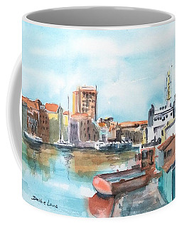 A Curacao Morning Coffee Mug