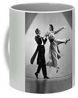 A Dance Team On Stage Coffee Mug