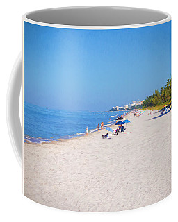 A Day At Naples Beach Coffee Mug