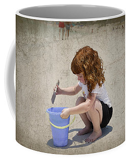 A Day At The Beach Coffee Mug by Charles Beeler