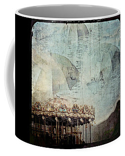 Coffee Mug featuring the digital art A Day At The Beach by Delight Worthyn