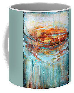 A Day At The Beach Coffee Mug by Tracy Male