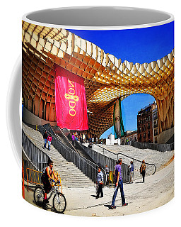 A Day At The Parasol Metropol Coffee Mug