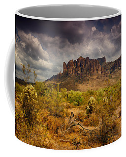A Day At The Superstitions  Coffee Mug