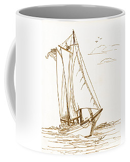 A Day On The Bay Coffee Mug