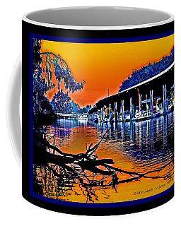 A Delta Sunset  Coffee Mug