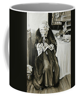 A Different Time Coffee Mug by Jean Cormier