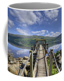 A Dock Out To Loch Tay Coffee Mug