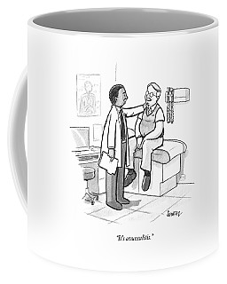 A Doctor Tells An Older Man Coffee Mug