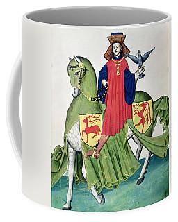 A Falconer, From Codex De Capodilista Vellum Coffee Mug
