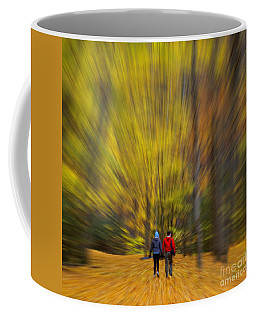 A Fall Stroll Taughannock Coffee Mug by Jerry Fornarotto