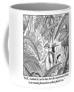 A Family Is Lost In The Depths Of A Jungle Coffee Mug