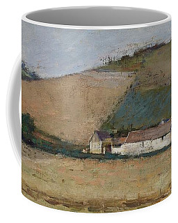 A Farm Among Hills Coffee Mug