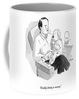 A Father Talks To His Baby Coffee Mug