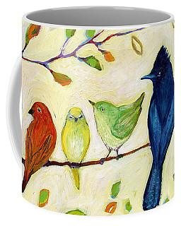 A Flock Of Many Colors Coffee Mug