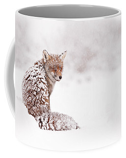 A Red Fox Fantasy Coffee Mug